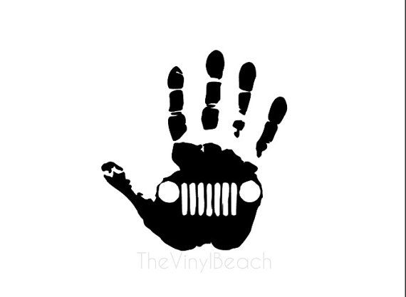 one jeep wave decal when ordering multiple decals if you would like a left and a right hand