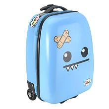 So So Happy Ozzie Rolling Luggage - Blue | Pack your bags ...