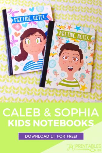 Caleb & Sophia Notebooks | Things I love | Caleb, sophia, Jw