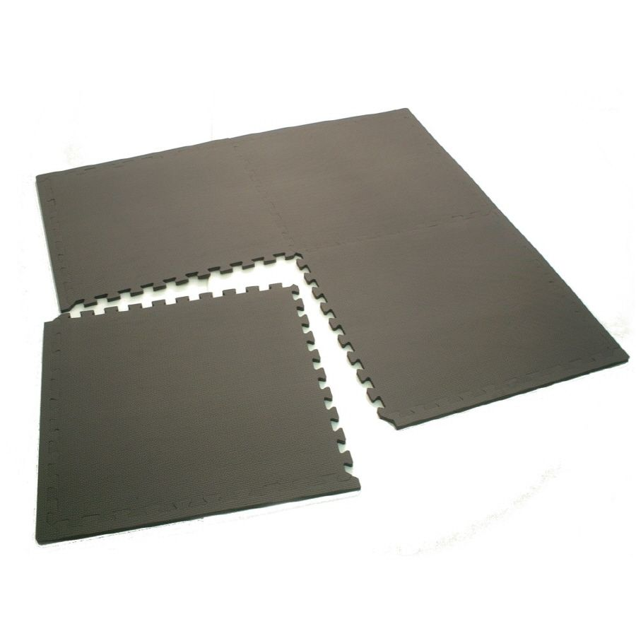 Gray Anti Fatigue Mat Common 4 Ft X 4 Ft Actual 49 21 In X 49 21 In Mb06014 In 2020 Home Gym Flooring Home Gym Basement Attic Renovation