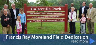 Francis Ray Moreland Field Dedication Dedication Book Cover Reading