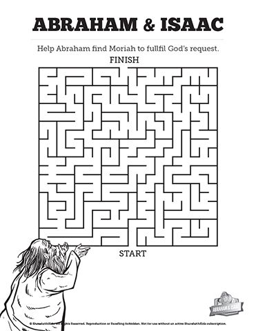 story of jacob and esau bible mazes designed to compliment your