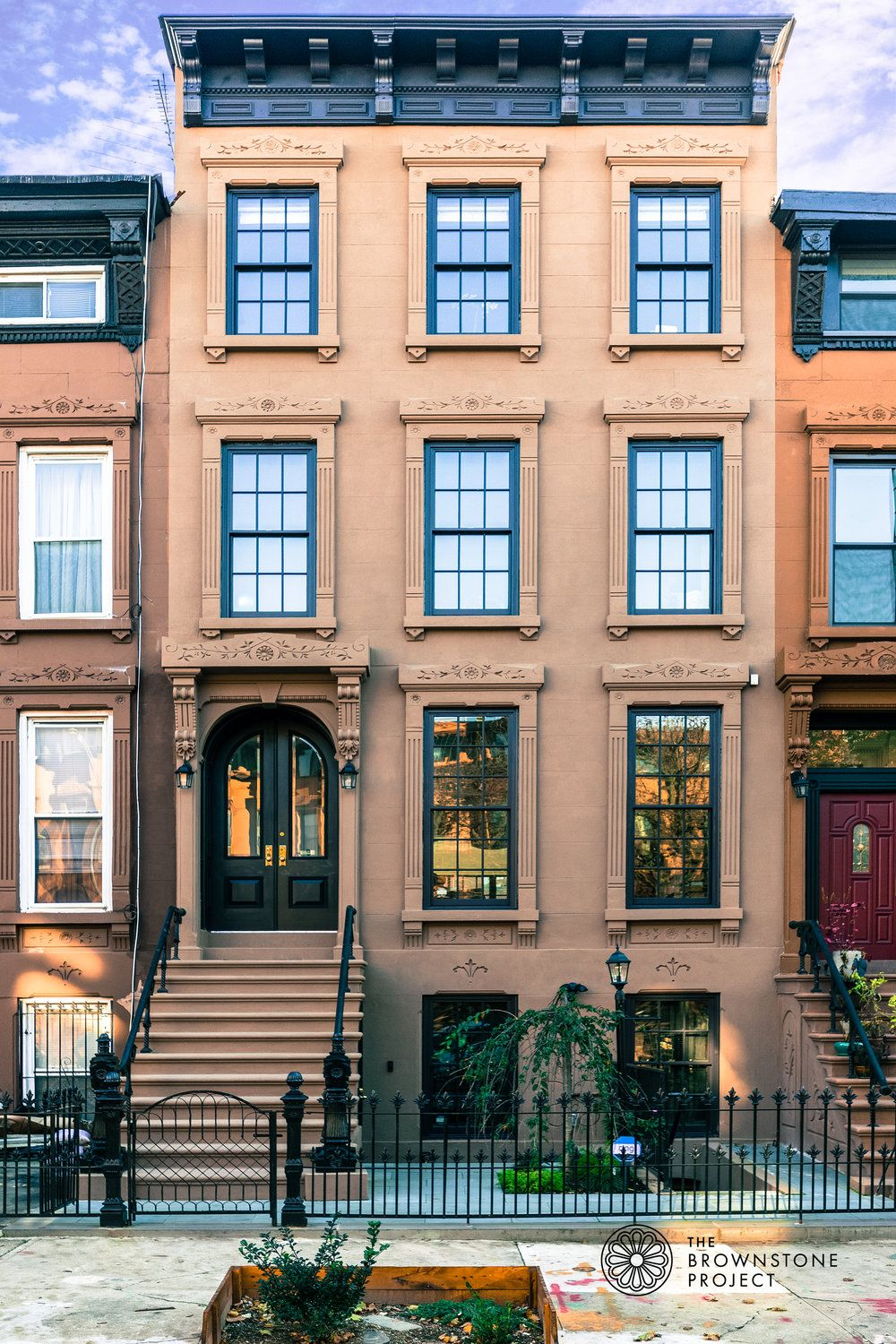 0f Exterior Front A Jpg Townhouse Exterior Brownstone