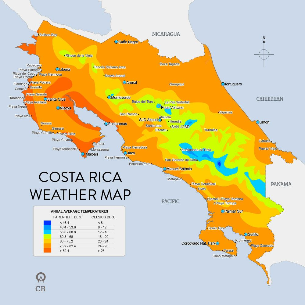 Weather Maps and more | Costa Rica | Pinterest | Costa Rica