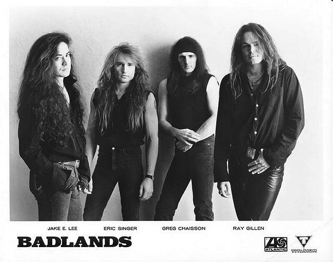 Pin on Ray Gillen - Badlands - Jake E. Lee