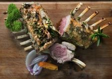 #TomParkerBowles #Roasted rack of #lamb with parsley sage rosemary and thyme. #Recipe