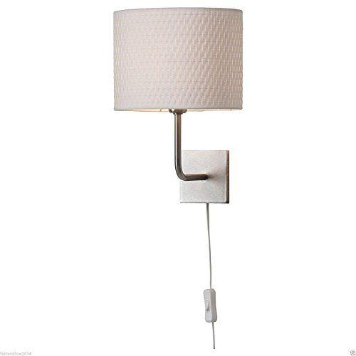 Ikea Alang Wall Lamp Nickel Plated White Ikea Https Www Amazon