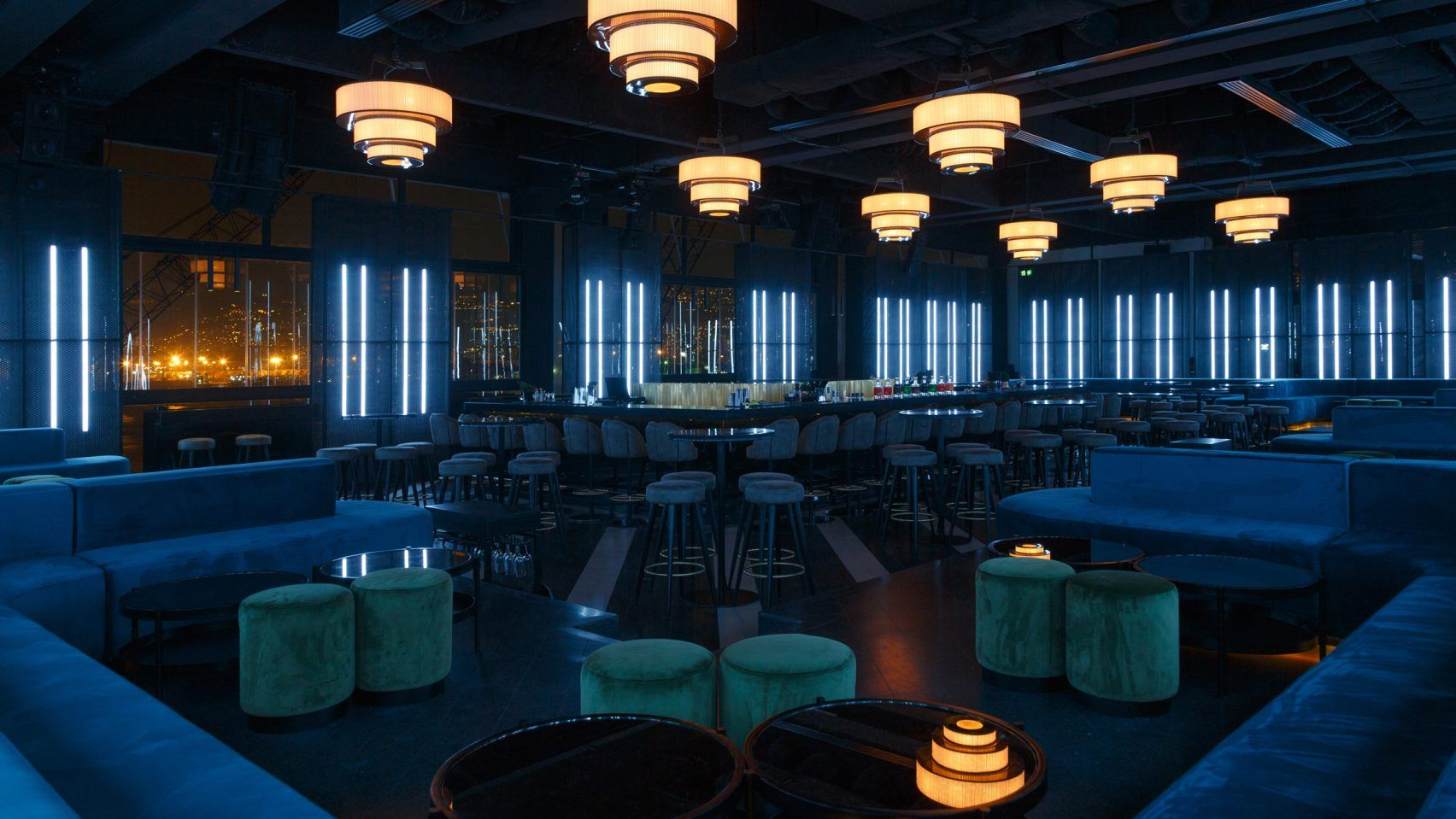 Interior Shell Of Beirut Nightclub Inspired By Shipping Containers