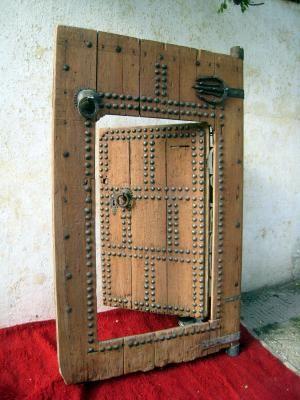 Tanger Tetouan Maroc Porte Ancienne De Riad Portes Anciennes