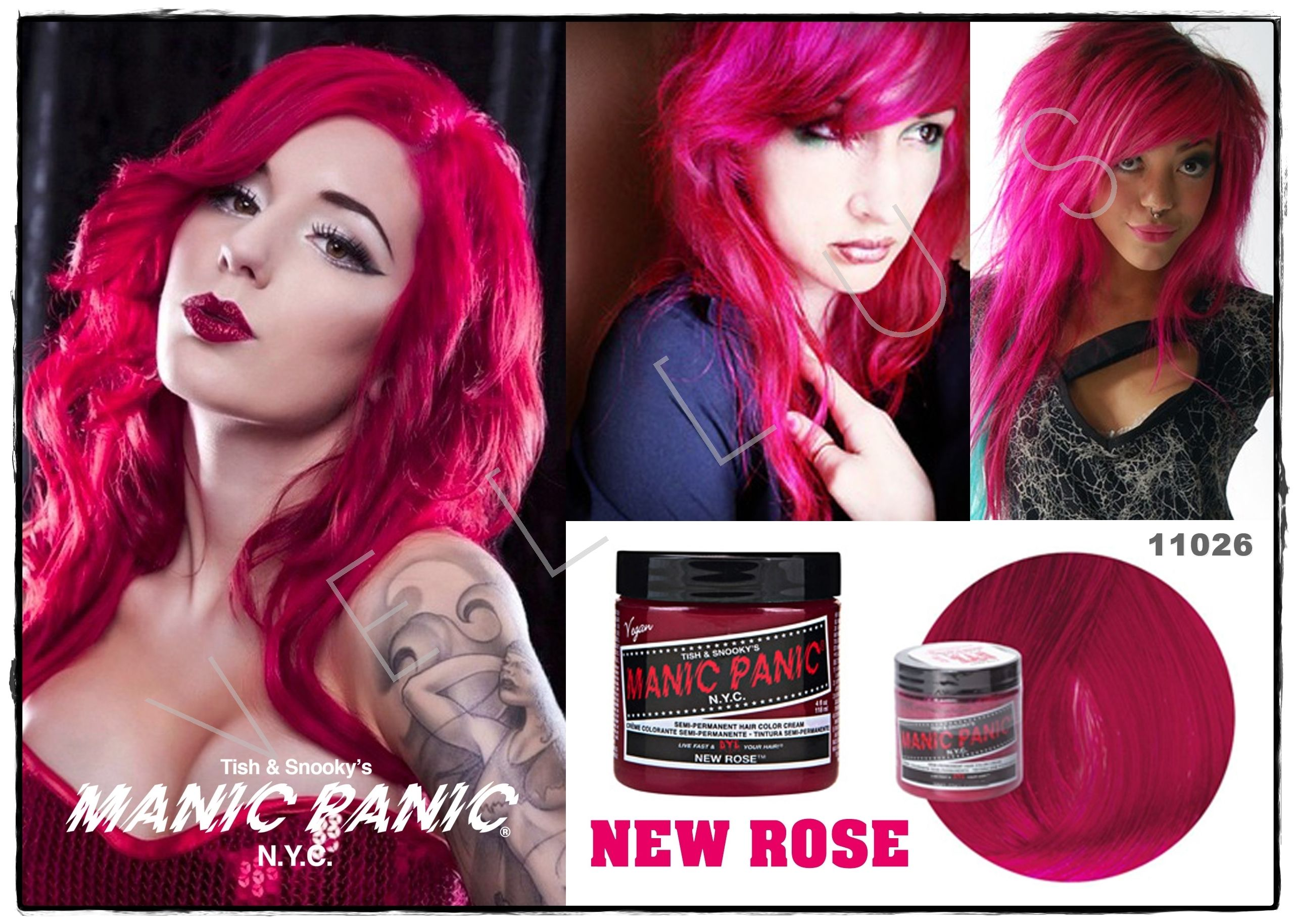 Manic Panic Classic New Rose Vellus Hair Studio 83a Tanjong Pagar Road S 088504 Tel 62246566 Beauty Hair Color Diy Hair Dye Dyed Hair