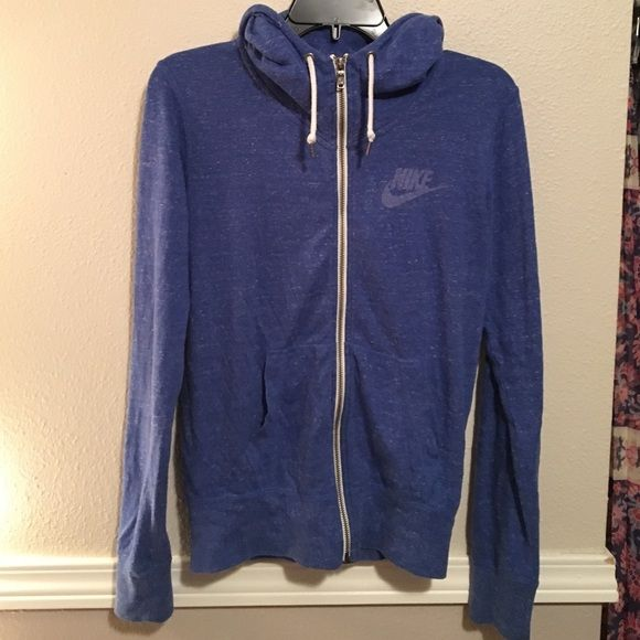 Nike gym class hoodie Royal blue heathered gym class hoodie. Barely worn Nike Jackets & Coats