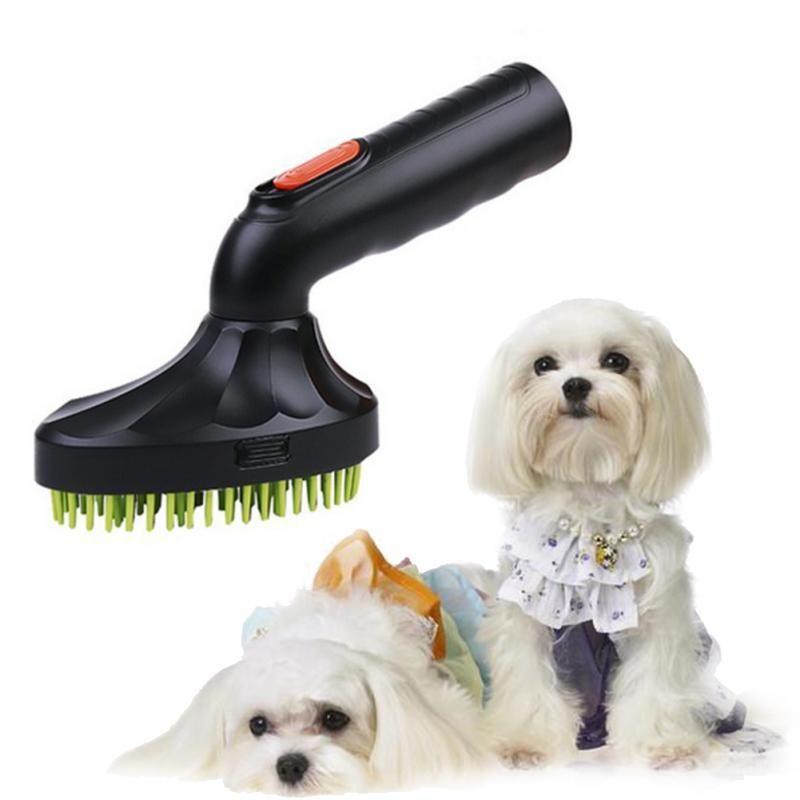 Pet Cat Dog Grooming Brush Vacuum Cleaner Hoover Hair Remover