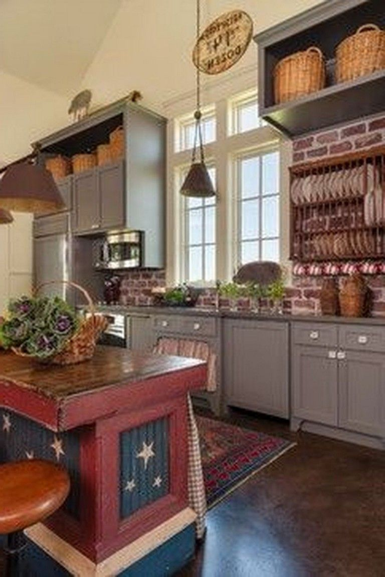 31 the top country farmhouse kitchen design ideas to on best farmhouse kitchen decor ideas and remodel create your dreams id=55299