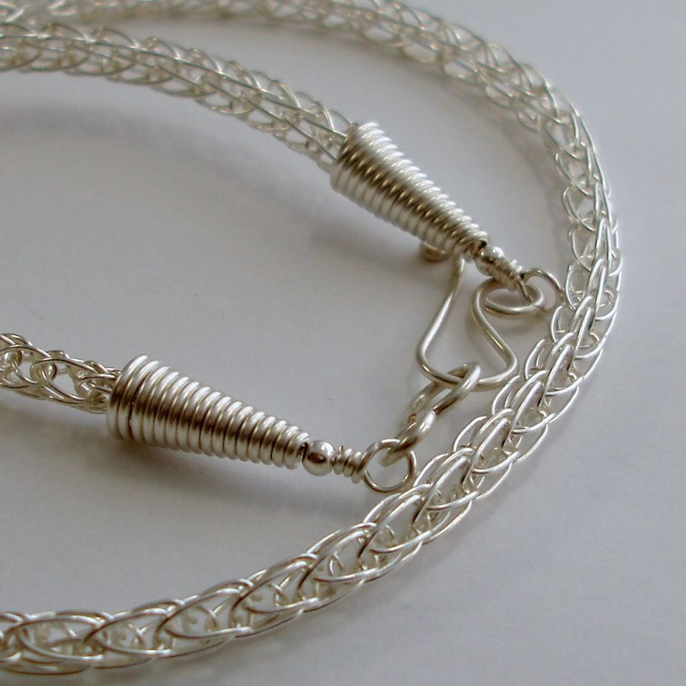 Viking Knit Chain | JewelryLessons.com | Jewelry Tutorials - Viking ...