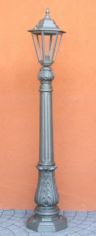 Mobili Da Giardino In Ghisa.Lampione Illuminazione Palo In Ghisa Foglie Acanto Per