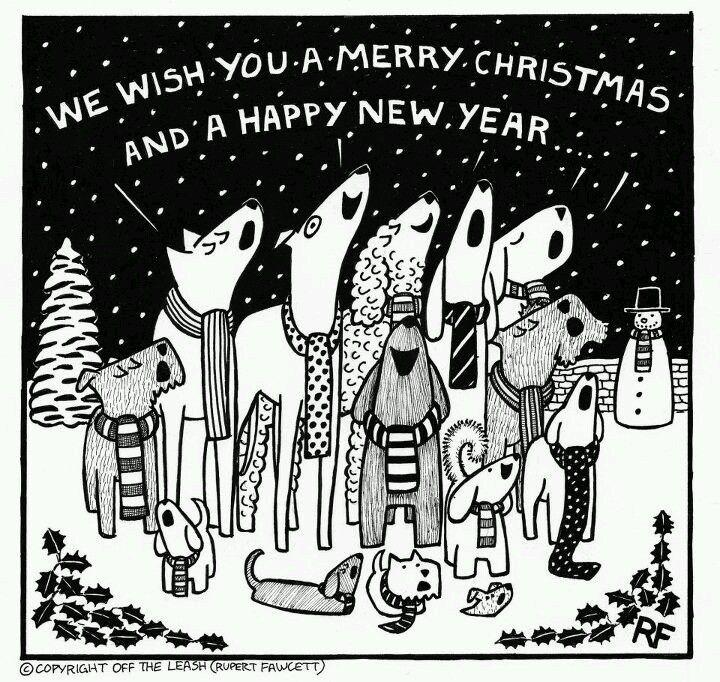 Pin By Karen Santiago On Photoshop Cartoon Dog Crazy Dog Lady Christmas Humor