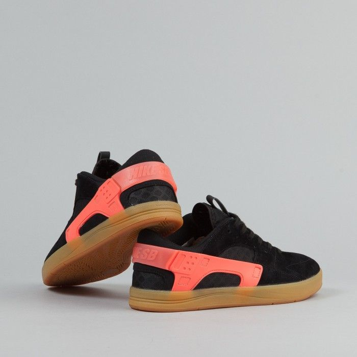 ccee5efaf89f2 Nike SB Eric Koston Huarache Shoes - Black   Hot Lava   Gum Light Brown
