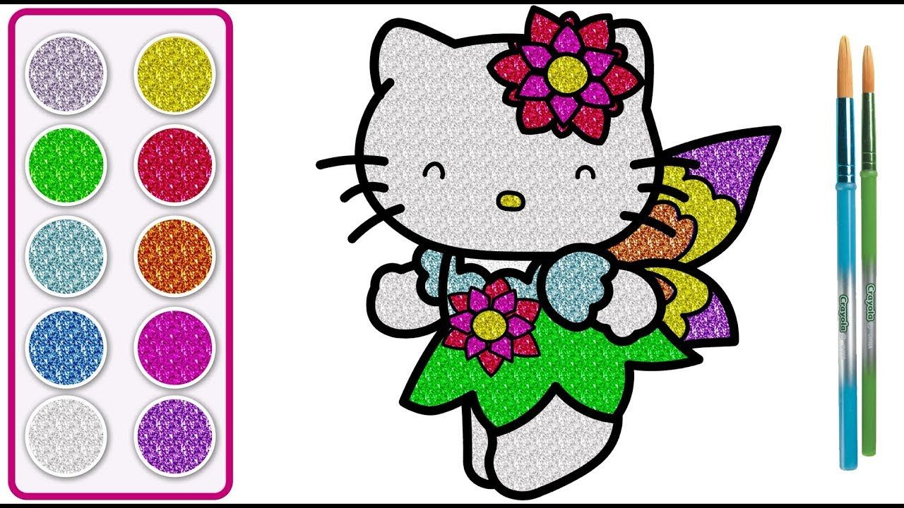 Hello Kitty Drawing Hello Kitty Drawing With Color Hello Kitty Color Hello Kitty Colouring Pages Hello Kitty Drawing Kitty Drawing
