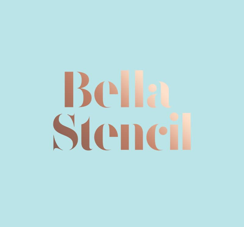 Free Download ^ The Trendy Stencil Fonts You've Deparately
