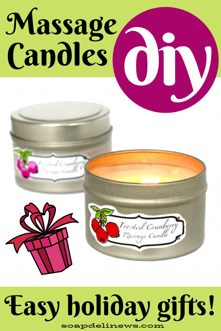 Massage Candle Recipe: How to Make DIY Massage Candles for Homemade Holiday Gifts this