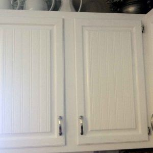Covering Cabinet Doors With Beadboard Future Home Wallpaper