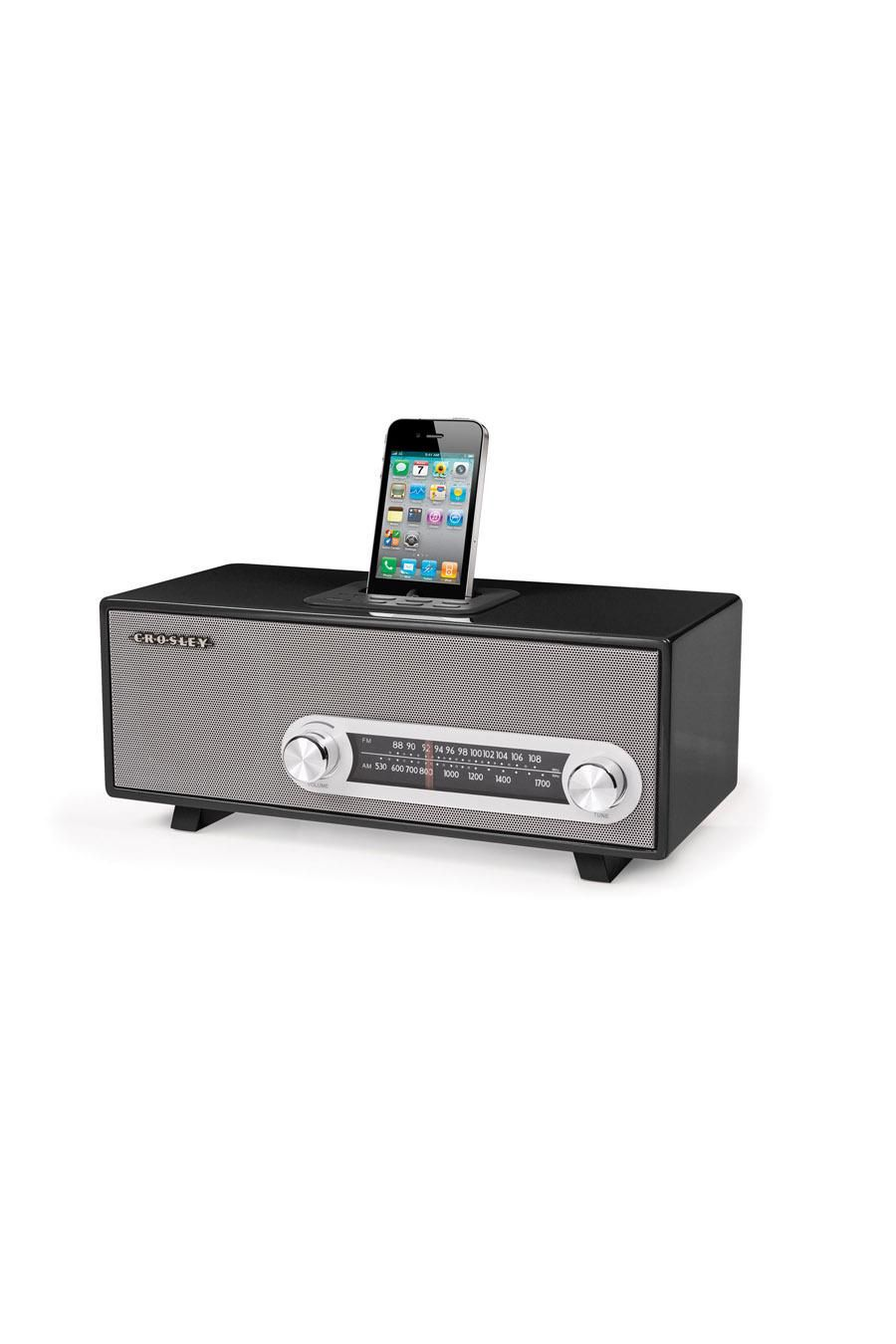 Crosley Radio Ranchero Black By Crosley Radio Stuff Ipod Dock Retro