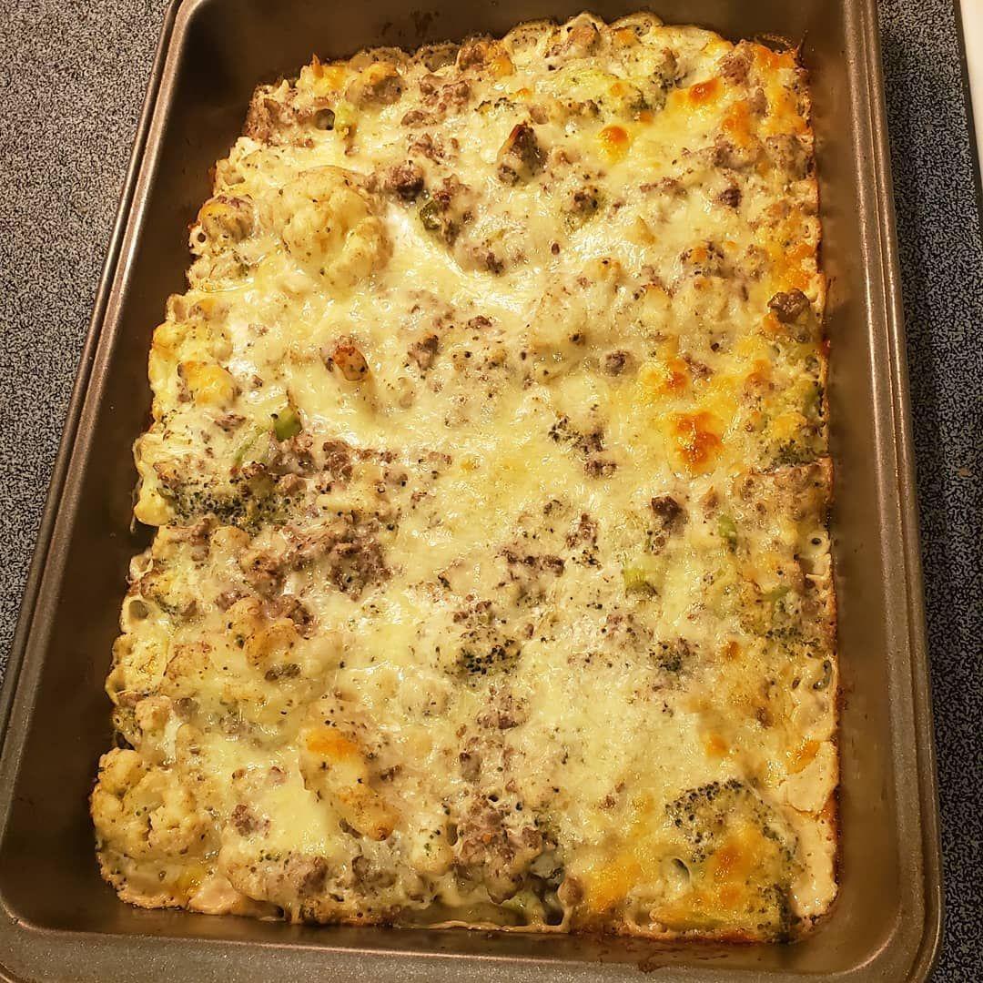 Creamy Beef Broccoli Casserole Yummy Casseroles Keto Recipes Keto Cookbook