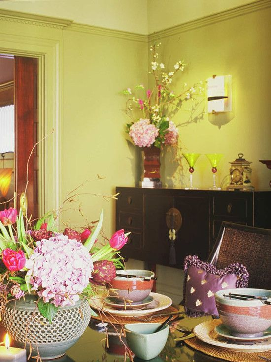Asian Dining Room Design, Pictures, Remodel, Decor and Ideas - page