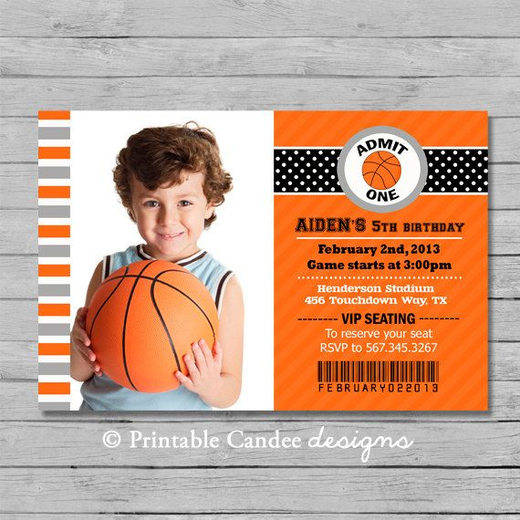 Pin By Rachel Jacobs On Birthday Boy Basketball Birthday Invitations Basketball Birthday Party Invitations Birthday Party Invitation Wording