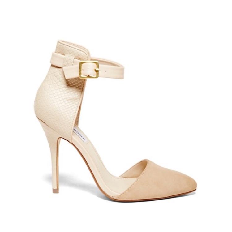 586529ab1de Steve Madden Shoes   Steven Madden Cream Trendy Heels   Color: Cream ...