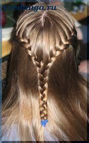 Колоски и косы - прически для девочек   Прически с ...
