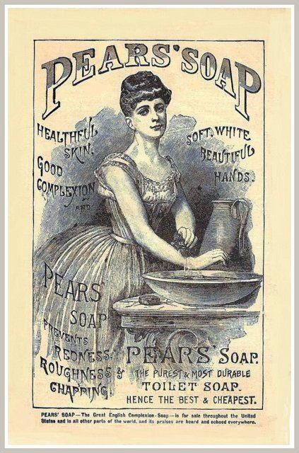 Art Print Pears Soap Advert Lily Langtry Poster - Bathroom Art Print