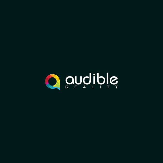 Audible Reality Needs A Logo We Bring Sound To Life Portray Our 3d Vr Experience By Katresnan Logo Design Contest Logo Design Custom Logo Design