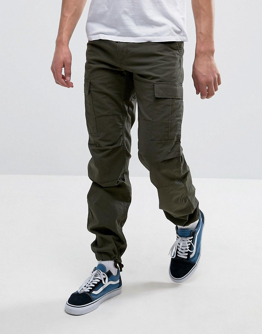 5f82fd418f CARHARTT WIP AVIATION PANTS - GREEN. #carhartt #cloth # | Carhartt ...