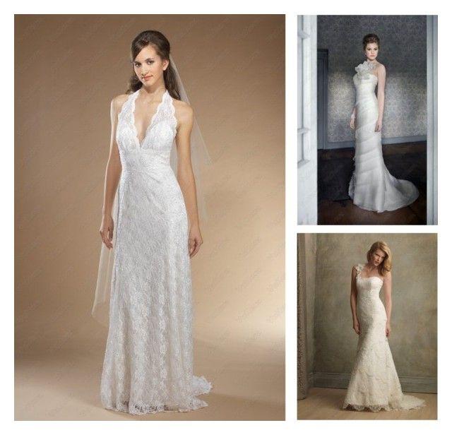 """Sheath Wedding Dresses"" by vuhera on Polyvore"