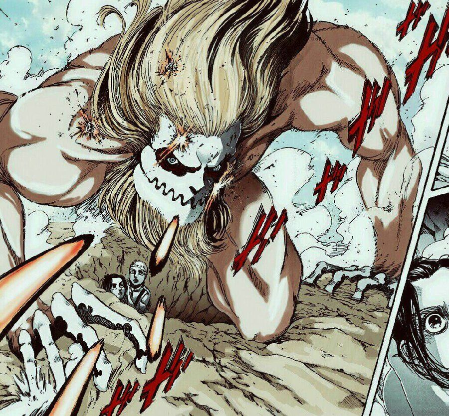 Galliard Jaws Titan My Personal Colored Version By Jawst Deviantart Com On Deviantart Attack On Titan Art Titans Attack On Titan