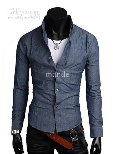 Modern Cowboy Outfits for Men | NEW men's clothes Casual Slim ...