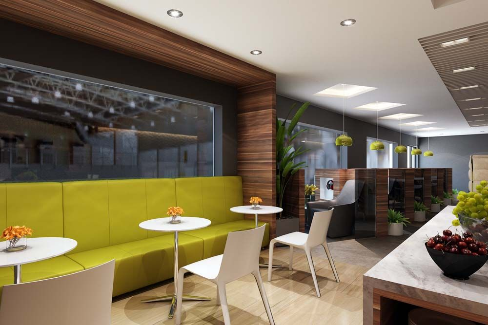 NAS Nigeria VIP Lounge Office space corporate