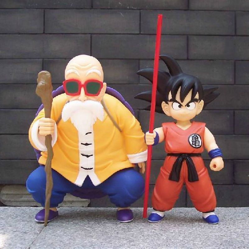 In STOCK S.H Figuarts Dragonball Z Master Roshi Action Figure free ship