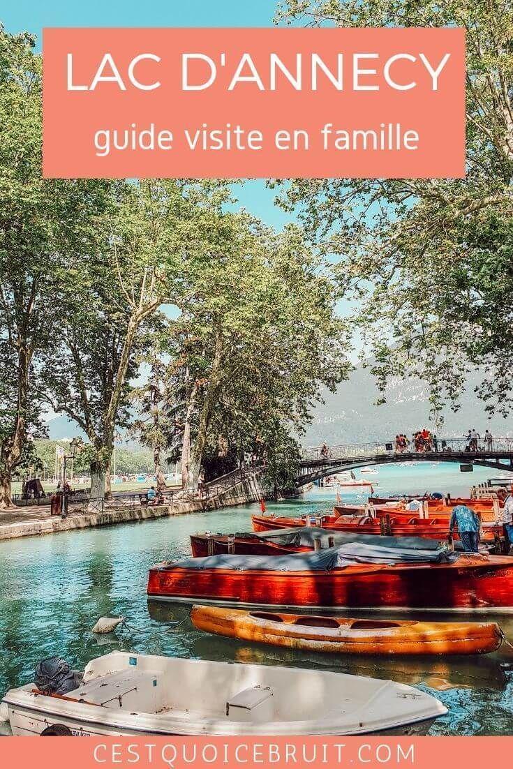 Lac dAnnecy, destination familiale et authentique #concours