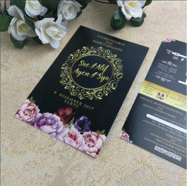 Home Chantiqs Kad Kahwin Cerimonia