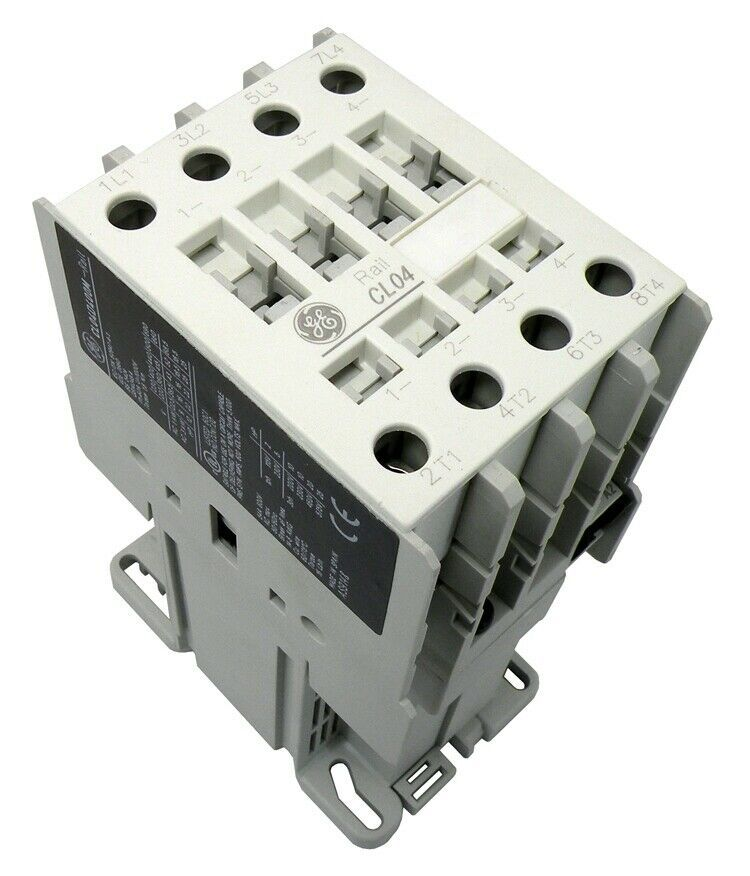 Ge Dc Contactor Cl04d400m Four Normally Open Ge Ebay Open