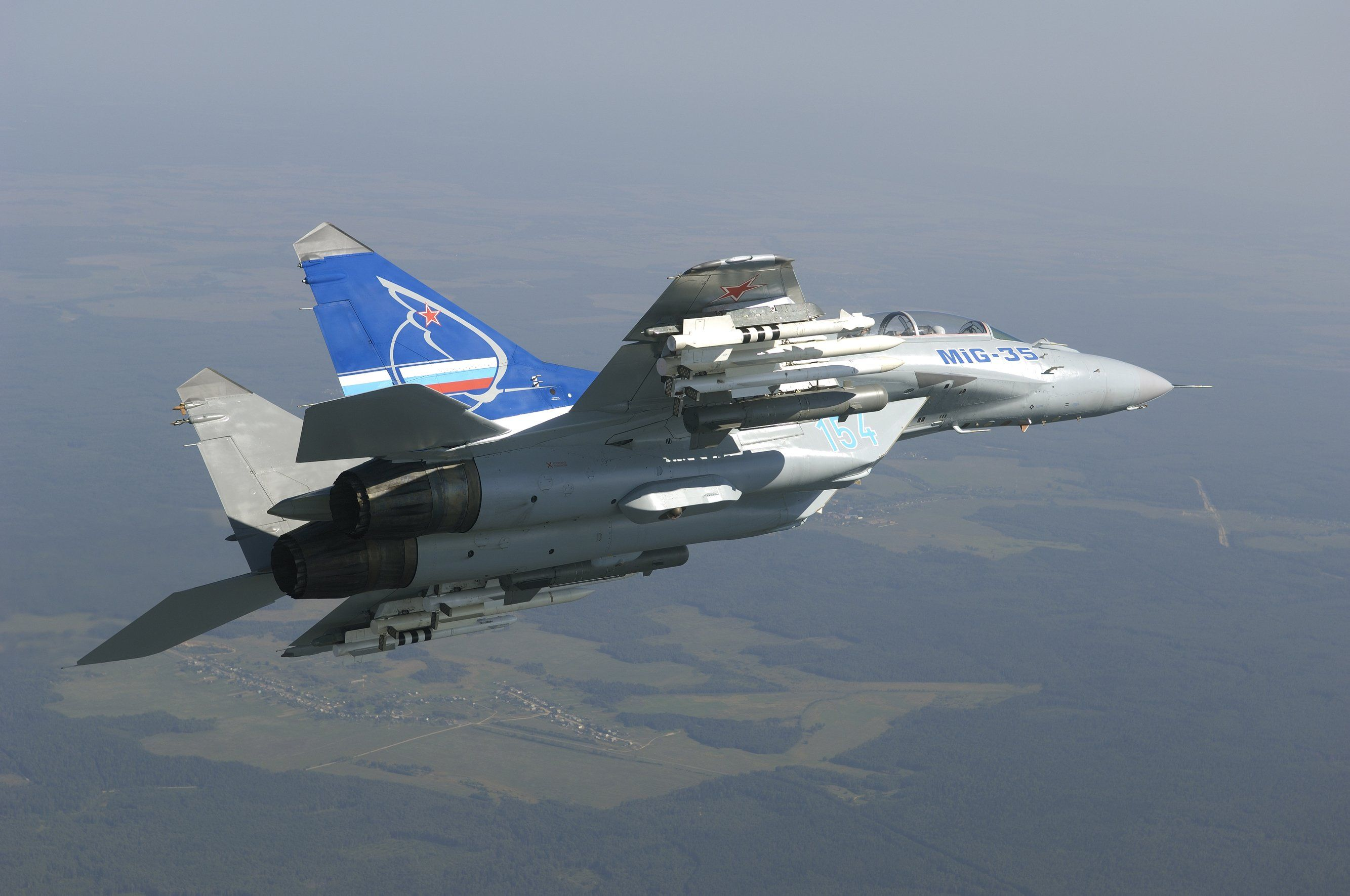 Mig 35 Fighter Jet Russian Airplane Plane Military Mig 31