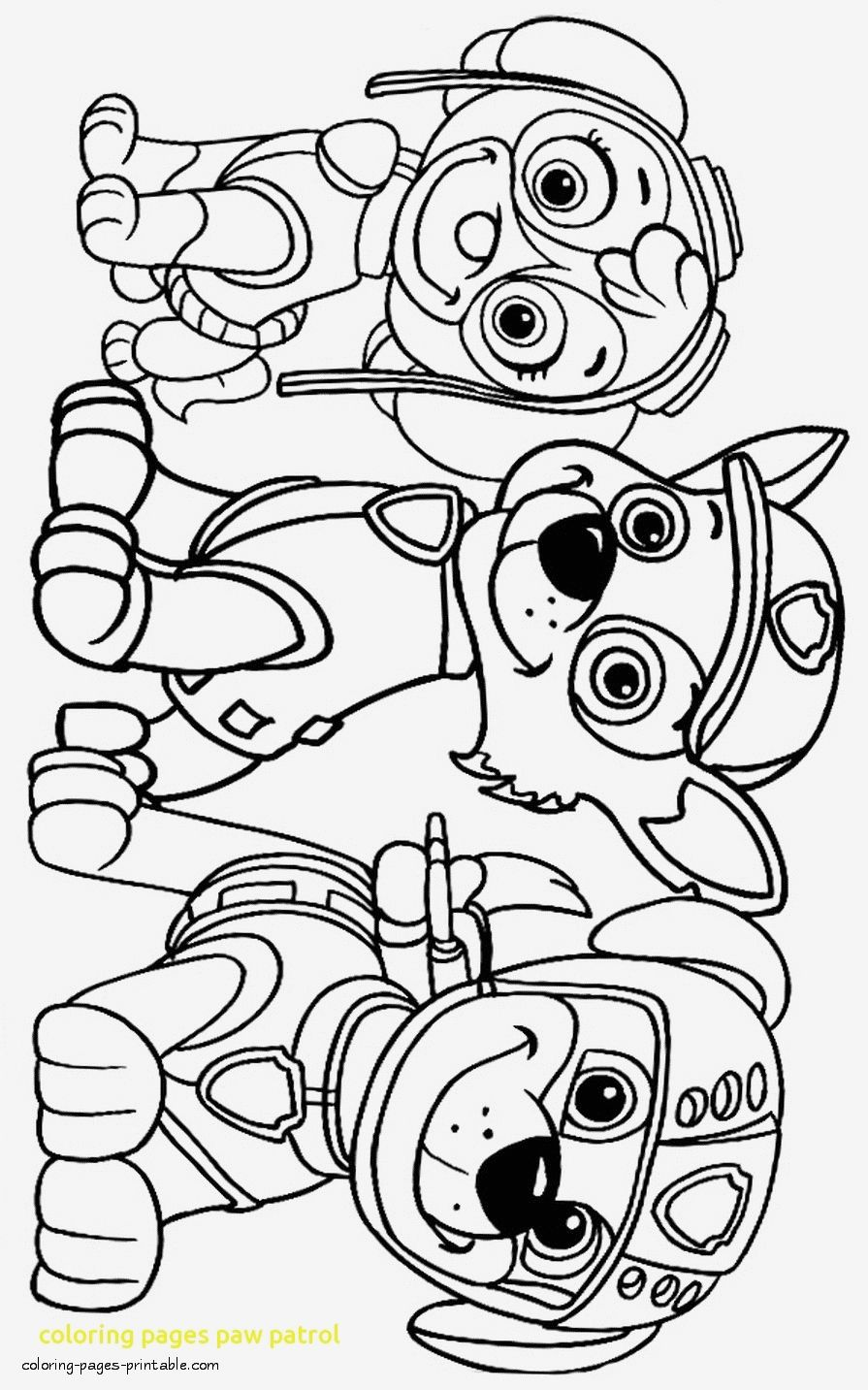 Paw Patrol Coloring Pages To Print Paw Patrol Coloring Pages Paw Patrol Coloring Paw Patrol Printables