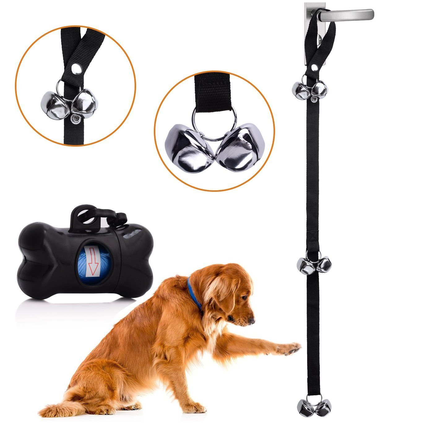 Me Fan Dog Doorbells For Dog Training And Housebreaking Potty