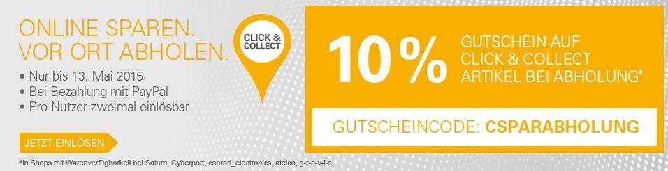 10% Rabatt bei Gravis, Saturn und anderen: Bei eBay einkaufen, vor Ort abholen und sparen - https://www.onlinemarktplatz.de/58340/10-rabatt-bei-gravis-und-vielen-anderen-bei-ebay-einkaufen-vor-ort-abholen-und-sparen/
