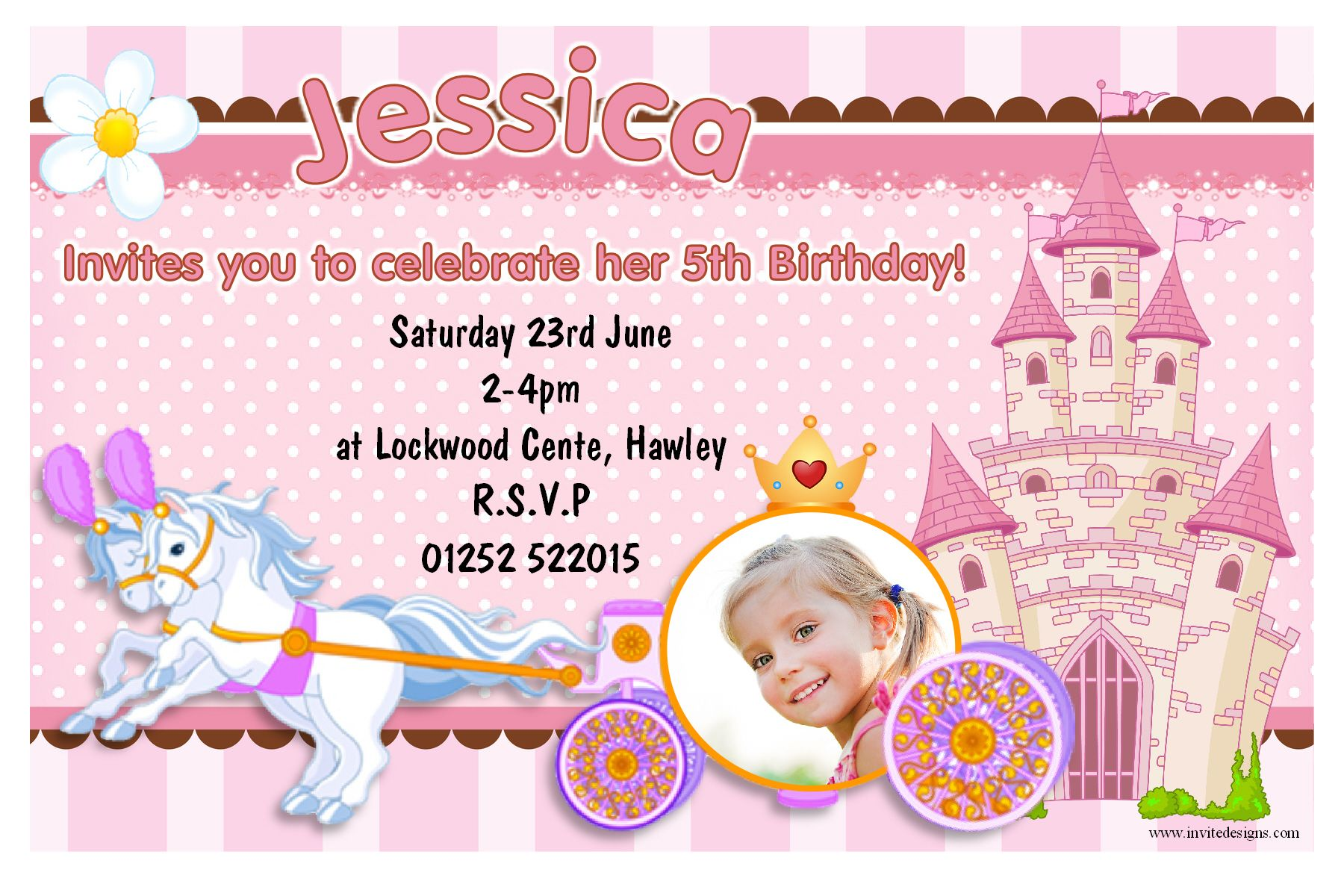 Image Result For 1st Birthday Invitation Card For Baby Girl