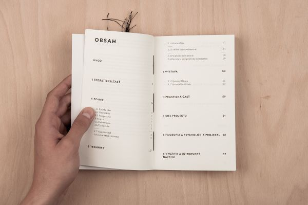 Typography in spatial applications – book design on Behance