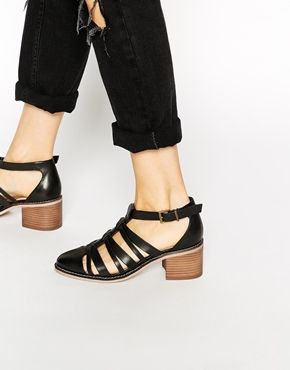 ASOS SCHOLARSHIP Leather Heels  3a43aa71c1f1