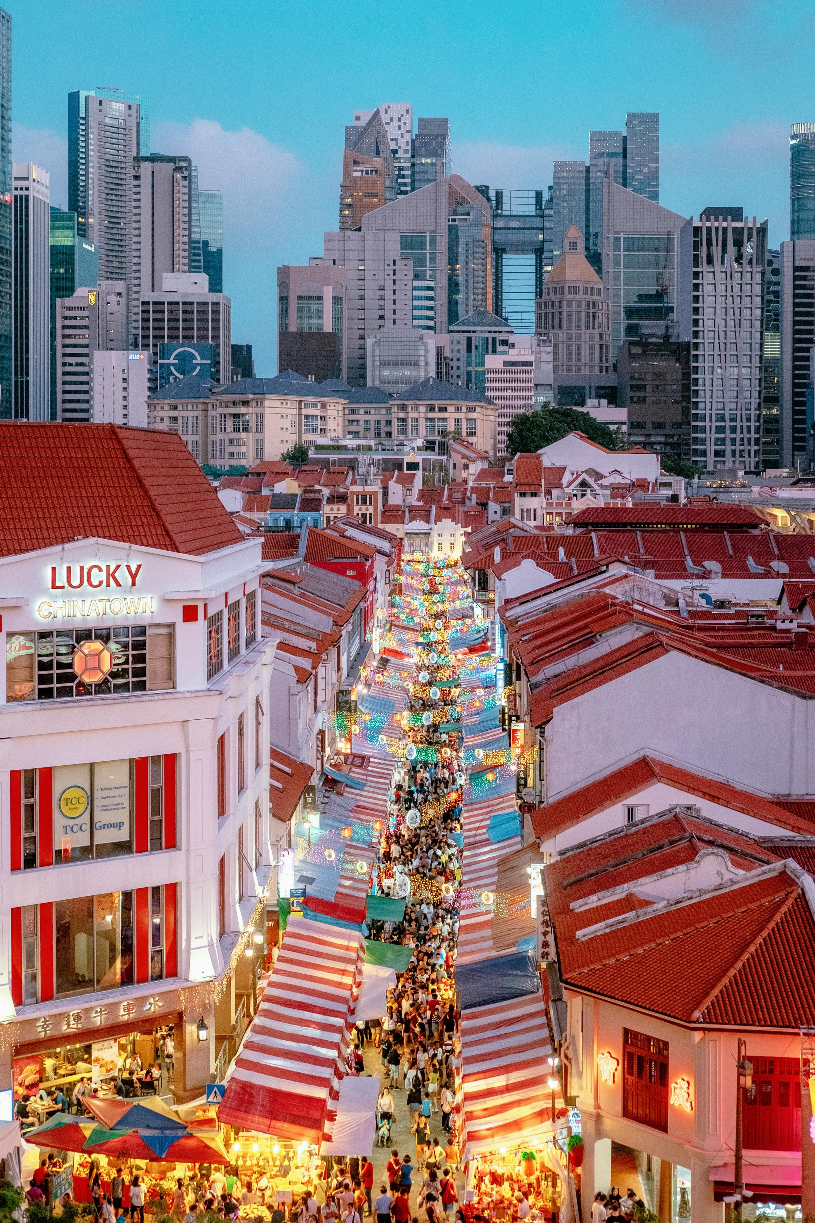 Chinese New Year Market A Week Ago Singapore City Cities Buildings Photography In 2020 Singapore Architecture City View Historic Buildings